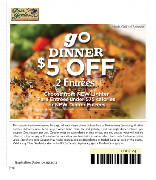 Lunch Coupons For Olive Garden 2017 2018 Best Cars Reviews