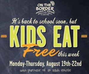 on the border kids eat free
