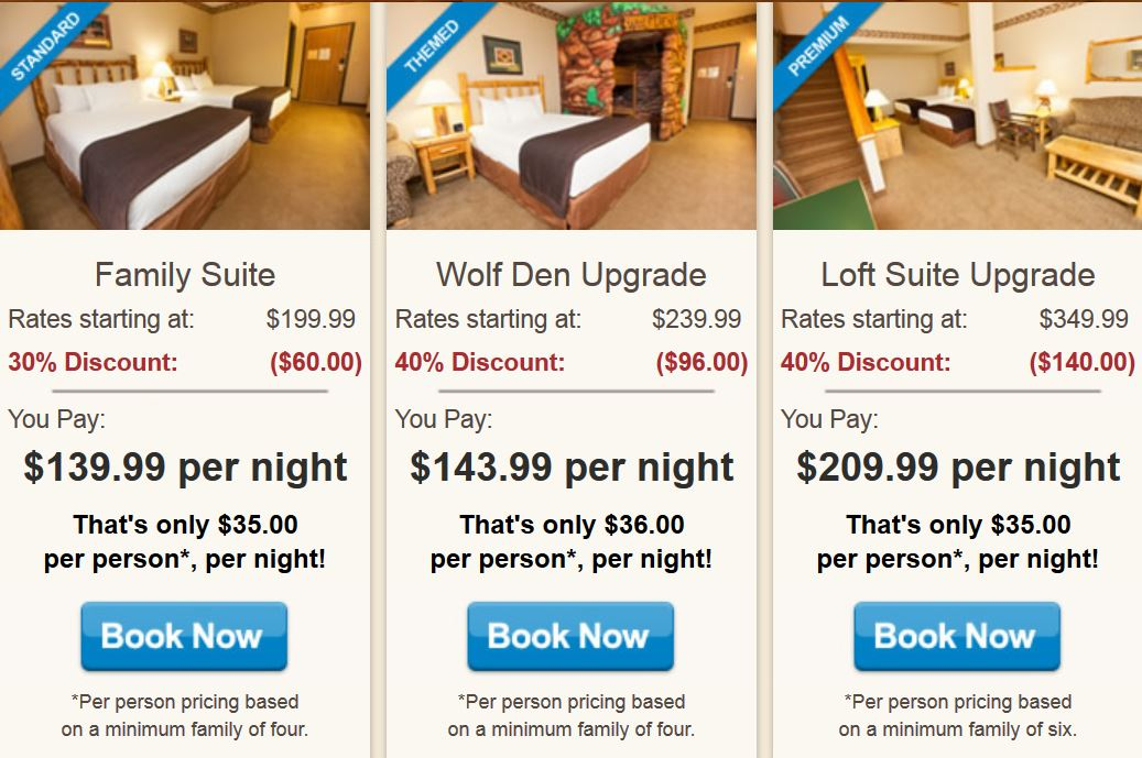 Through 6/17, head over to Groupon where they are offering Extra 10% Off Select Getaways with the promo code SALE3 at checkout. As a deal idea, you can score some nice savings on the Water Park Stay at Great Wolf Lodge after the promo code.