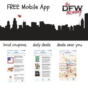 dfwmommy mobile app banner