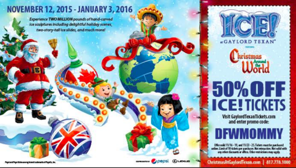 Hot Deal Ice At The Gaylord Texan Tickets 50 Off My