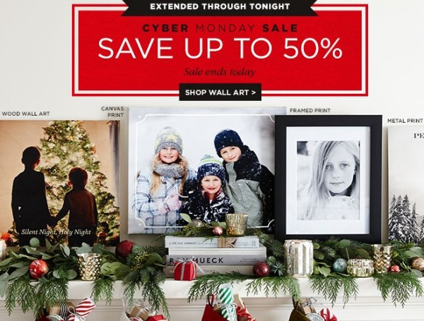Shutterfly Cyber Monday Extended Save An Extra 25 Off Select Items My Dfw Mommy