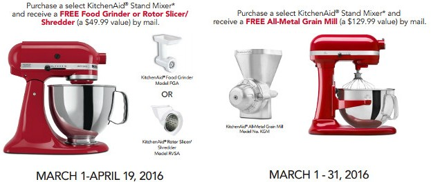 Kohl S Cardholders Kitchenaid Stand Mixers Free Food
