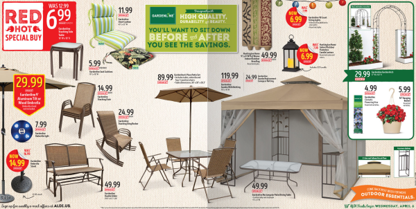 Aldi 6 Piece Patio Set Only 89 99 More My Dallas Mommy