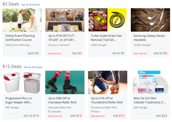 Find great deals on eBay for 5 dollar deals. Shop with confidence.