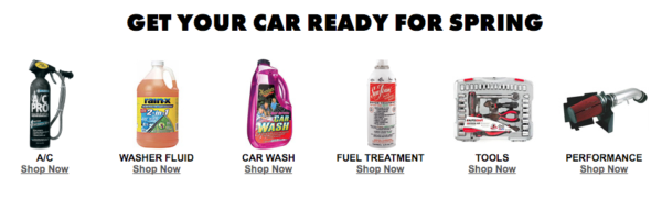 Advance Auto has FREE shipping to your home on any order over $75, or you can have most items shipped free to one of their local stores. Click on the link at the bottom of the post to use the coupons.