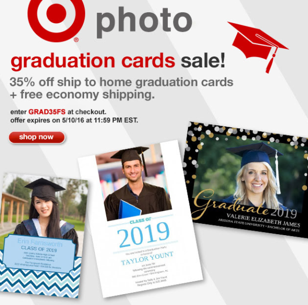 Free Shipping Today: Target Photo~ 35% Off Graduation Cards + Free Shipping