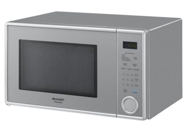 Best Buy Sharp 1 1 Cu Ft Mid Size Microwave Just 59 99