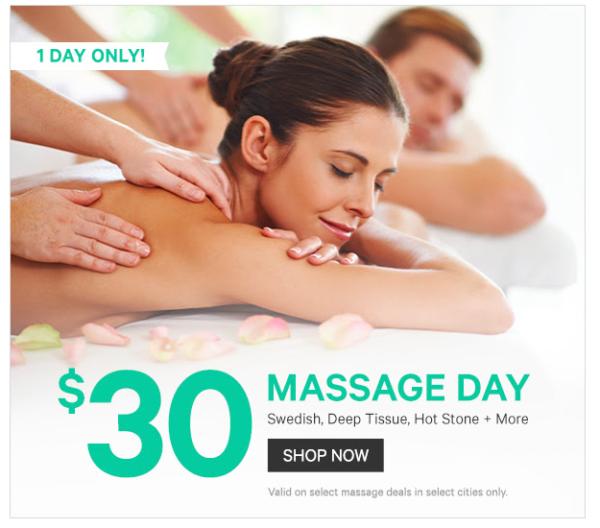 groupon massage dallas