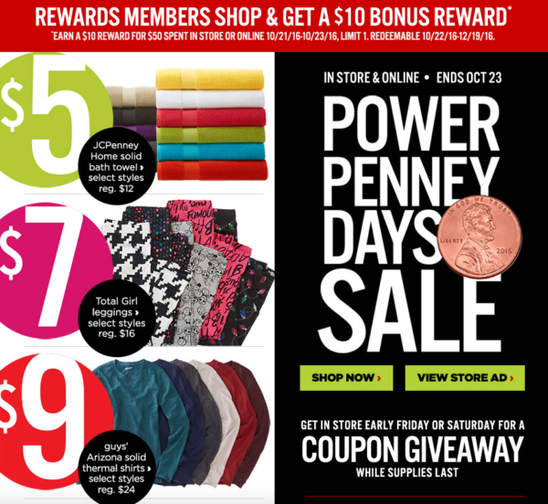 Big Sales This Weekend: JCPenney~ Big Sale On Clothes, Blankets & More + Coupon