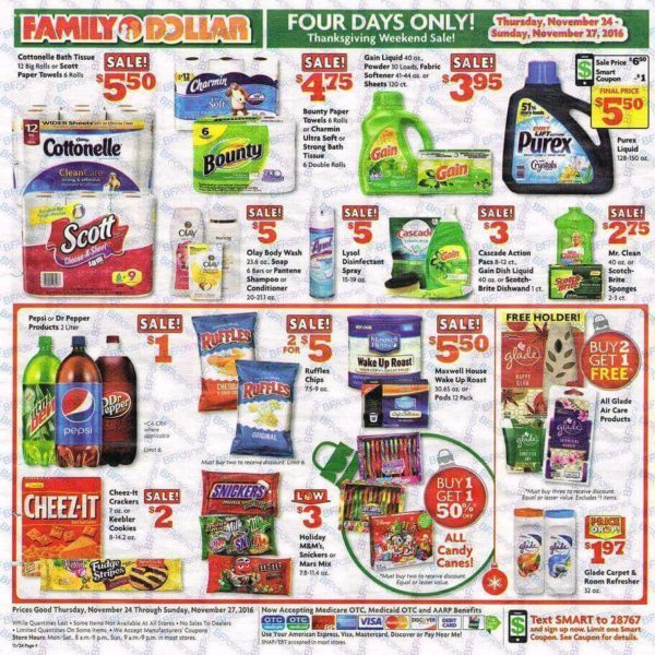 Does family dollar store accept coupons