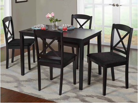 Mason 5 piece cross back dining set only 169 reg 200 for 5 piece dining set under 200