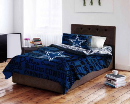 Epic Walmart NFL Dallas Cowboys Bed in a Bag Complete Bedding Set Just Shipped My Dallas Mommy