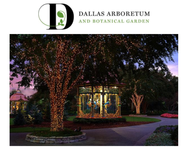 Dallas arboretum discount coupons