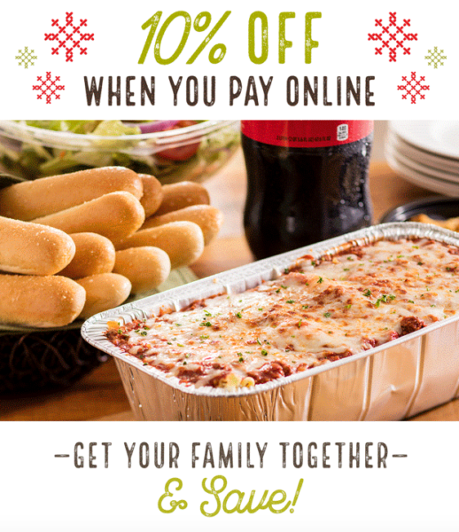 Olive Garden Save 10 When You Order Pay Online My Dallas Mommy