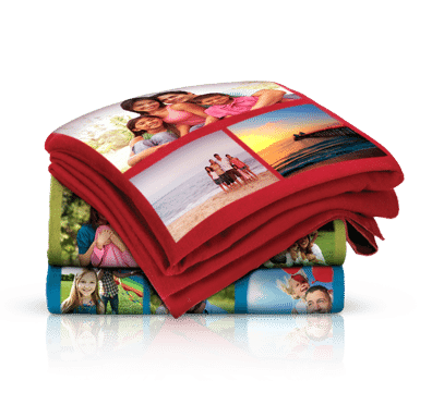 Walgreens Photo Personalized Collage Fleece Blanket Only