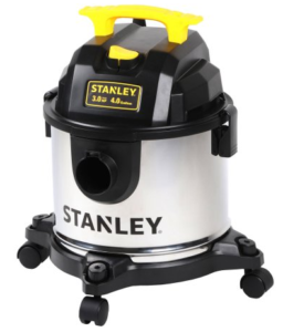 Walmart stanley 4 gallon stainless steel wet dry vacuum for Pm stanley motor cars