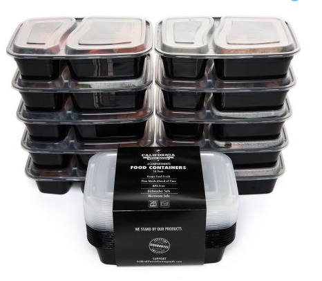walmart 10 meal prep food containers reg my dallas mommy. Black Bedroom Furniture Sets. Home Design Ideas