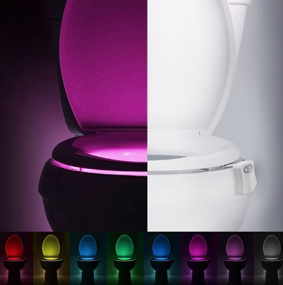 Tanga Motion Activated Led Toilet Night Light Only 7 98