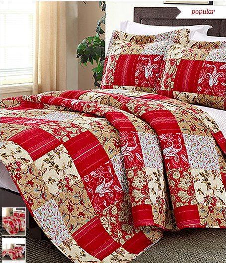 Zulily 3 Piece Reversible Quilt Sets Only 19 99 Reg