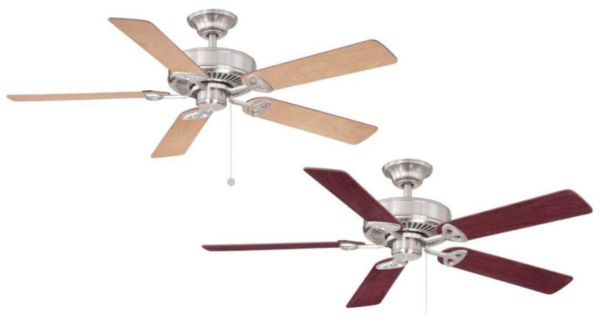Home Depot Farmington Indoor Brushed Nickel Ceiling Fan Only 34 98 Reg 50 My Dfw Mommy