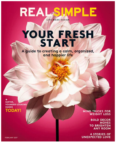 Subscribe to Real Simple - the magazine that's all about making life easier.