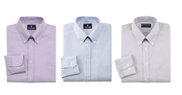Jcpenney Men S Stafford Dress Shirts Only 12 Each When You Buy Two Reg 40 My Dallas Mommy