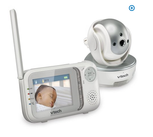 vtech safe sound baby monitor w camera only 99 retail 179 my dallas mommy. Black Bedroom Furniture Sets. Home Design Ideas