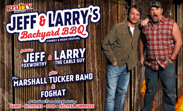 Groupon~ Discounted Tickets to Jeff Foxworthy & Larry The ...