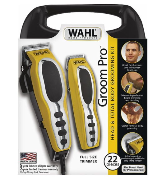 best buy wahl pro grooming 22 piece kit only reg my dallas. Black Bedroom Furniture Sets. Home Design Ideas