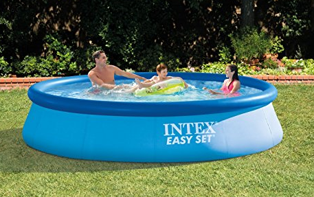 Amazon intex 12ft x 30in easy set pool only 56 shipped for Intex pool 120 hoch