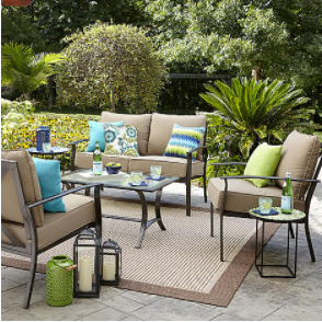 Searscom Outdoor Furniture Sale Garden Oasis 4piece. Kmart Small Patio Table. Modern Patio Furniture Ideas. Patio Cover Ideas Fabric. Deck To Patio Pictures. Walmart Outdoor Living Patio Furniture Dining Sets. Small Patio Setup Ideas. Deck To Patio Ideas. Outdoor Living Patio Furniture