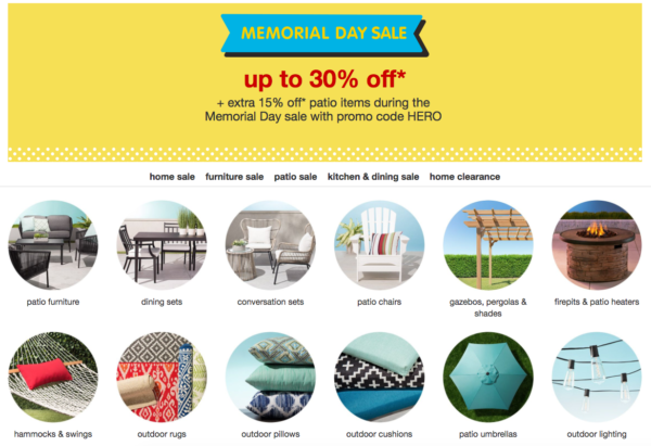 My Dallas Mommy Tar Memorial Day Sale Extra 15% off Already Discounted