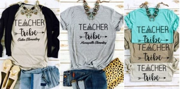 Customized teacher tribe shirts retail 28 my for Custom t shirts fort worth