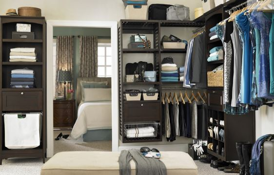 Lowe S Allen Roth 76 In Java Wood Closet Tower 149 25