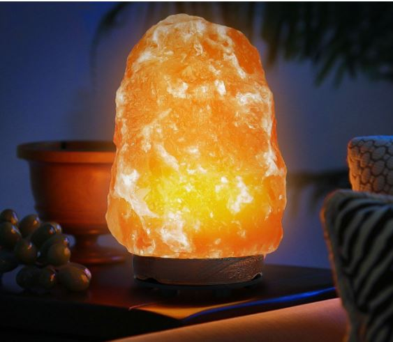Salt Lamps Black Friday : Hand Carved Himalayan Rock Salt Lamp USD 17.99 (Retail USD 39.99) - My Dallas Mommy