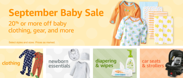 Amazon September Baby Sale Extra f Toys