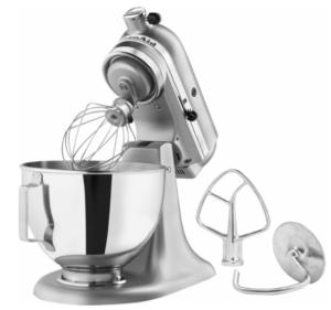 Kitchenaid Silver Stand Mixer Just 199 99 Shipped My