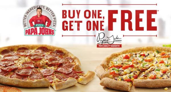 Papa John's~ BOGO Free Pizzas + FREE Large Pizza For Later - My DFW Mommy