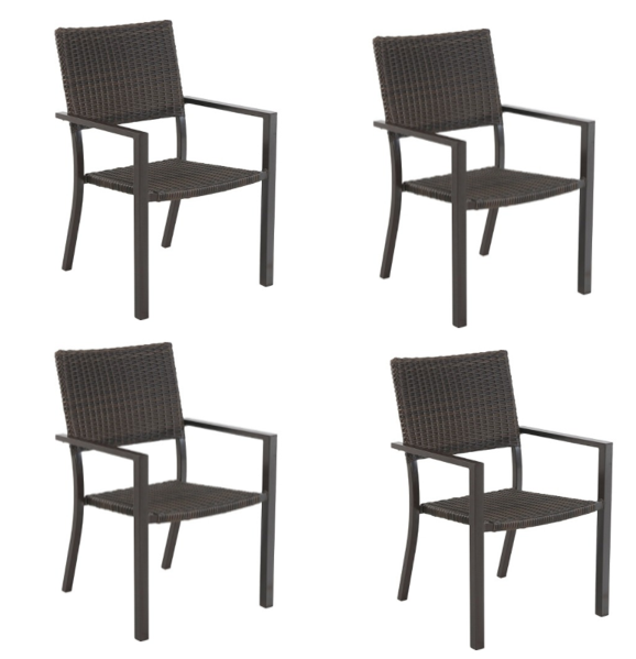 Best Furniture Set At Target: Target~ Set Of 4 Belvedere Wicker Patio Dining Chairs For