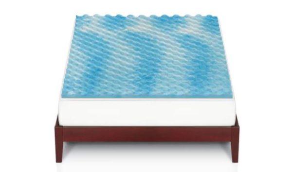 The Big One Gel Memory Foam Mattress Topper 25 49 Retail