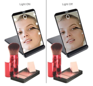 Hotlife Led Lighted Makeup Mirror Just 7 94 My Dfw Mommy