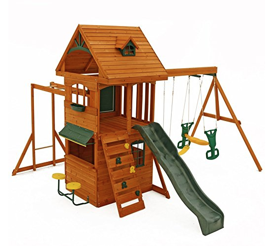 Big Backyard Ridgeview Clubhouse Deluxe Play Set Only $675