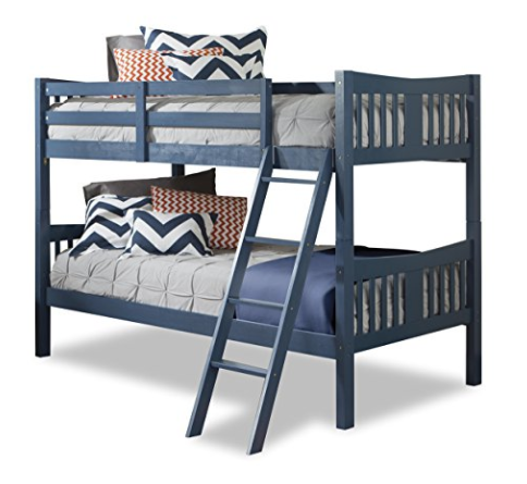 Storkcraft Solid Hardwood Twin Bunk Bed Set Only 167 99