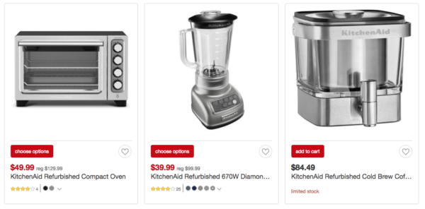 Up To 40 Off Kitchenaid Small Kitchen Appliances At