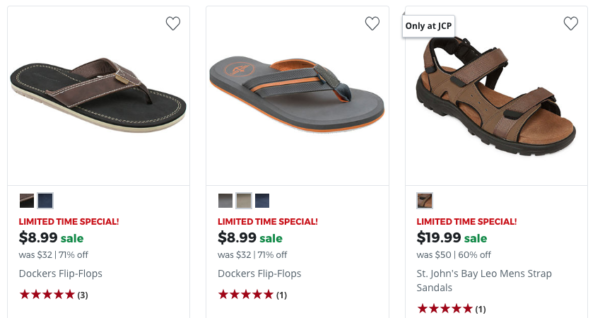 1d098ac7fdf70 70% Off Men s Sandals at JCPenney - My DFW Mommy