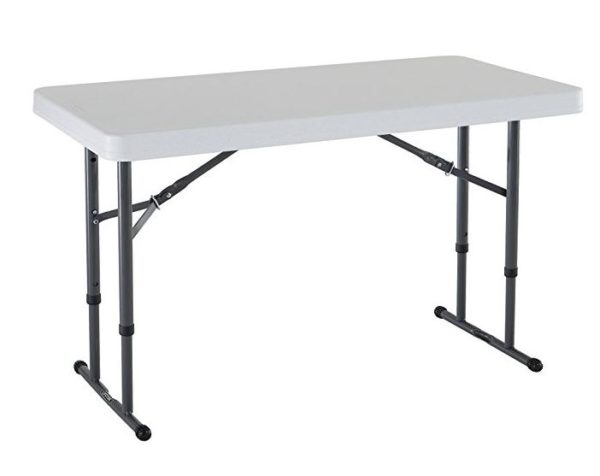Commercial Height Adjustable Folding Table 29 90 Shipped
