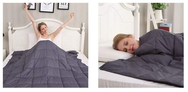 15 pound weighted blanket shipped my dallas mommy. Black Bedroom Furniture Sets. Home Design Ideas