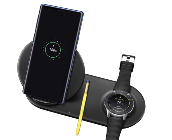Samsung Wireless Charger Duo Fast Charge Stand & Pad $49 ...
