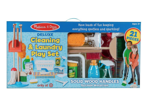 Melissa Amp Doug Deluxe Cleaning Amp Laundry Play Set 19 99
